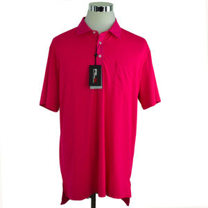 NEW RLX Golf Ralph Lauren Polo Shirt XL Hot Pink